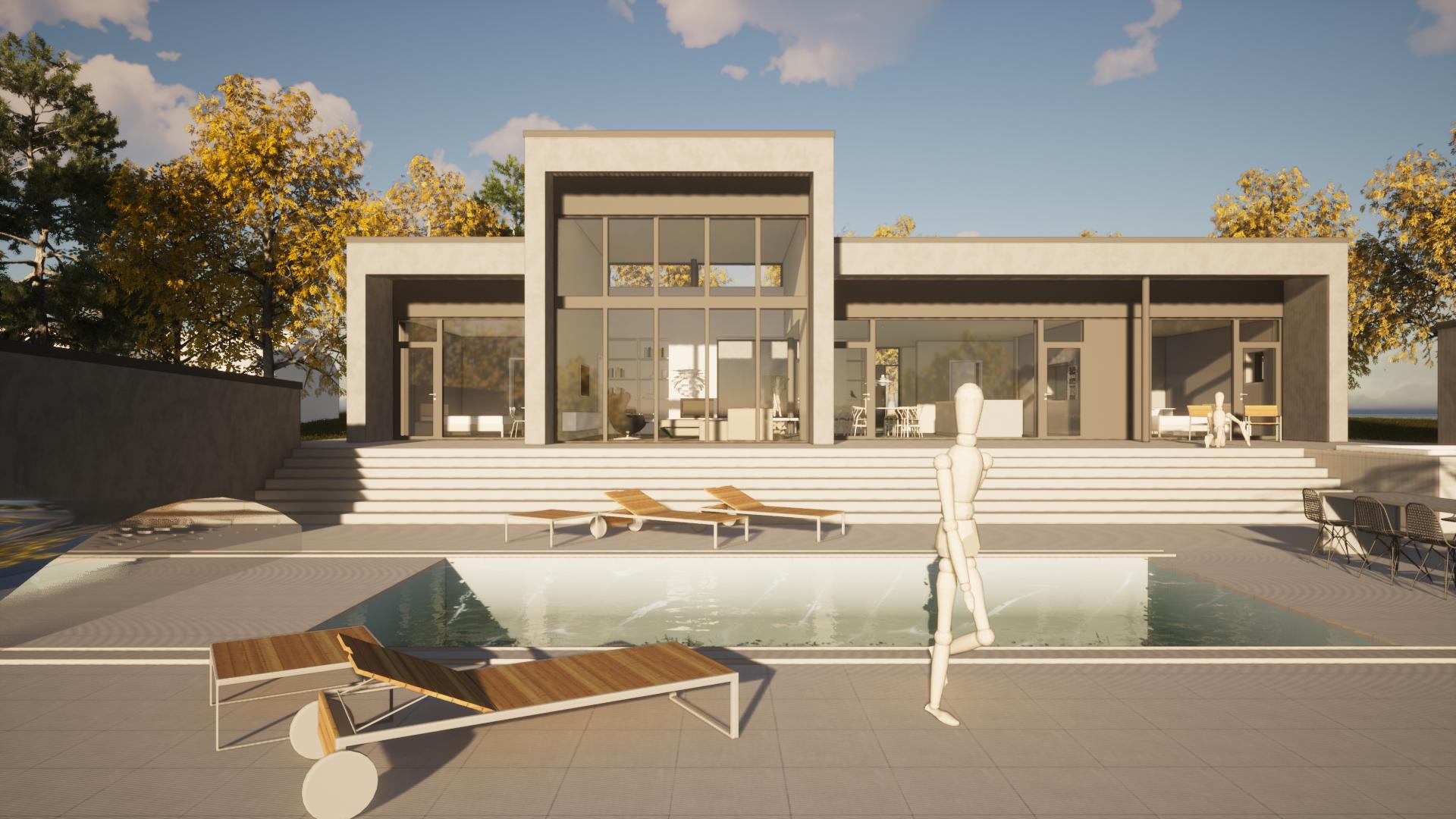 Arkitekt Villa Nättraby Lättbetong