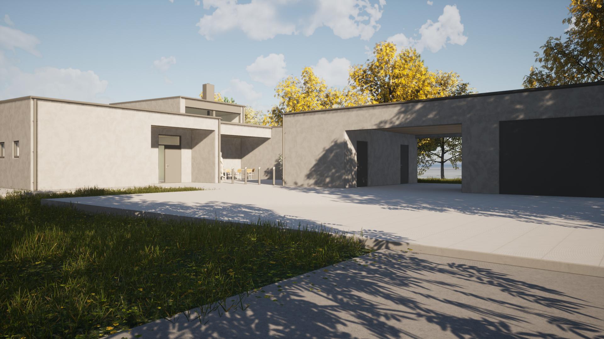 Arkitekt Villa Fä Lättbetong